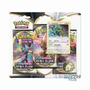 Pokemon TCG Rebel Clash Triple Pack Blister - Rayquaza